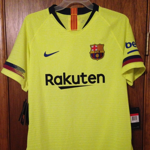 promo code e8149 d1af5 Barcelona $165 Nike VaporKnit authentic jersey NWT